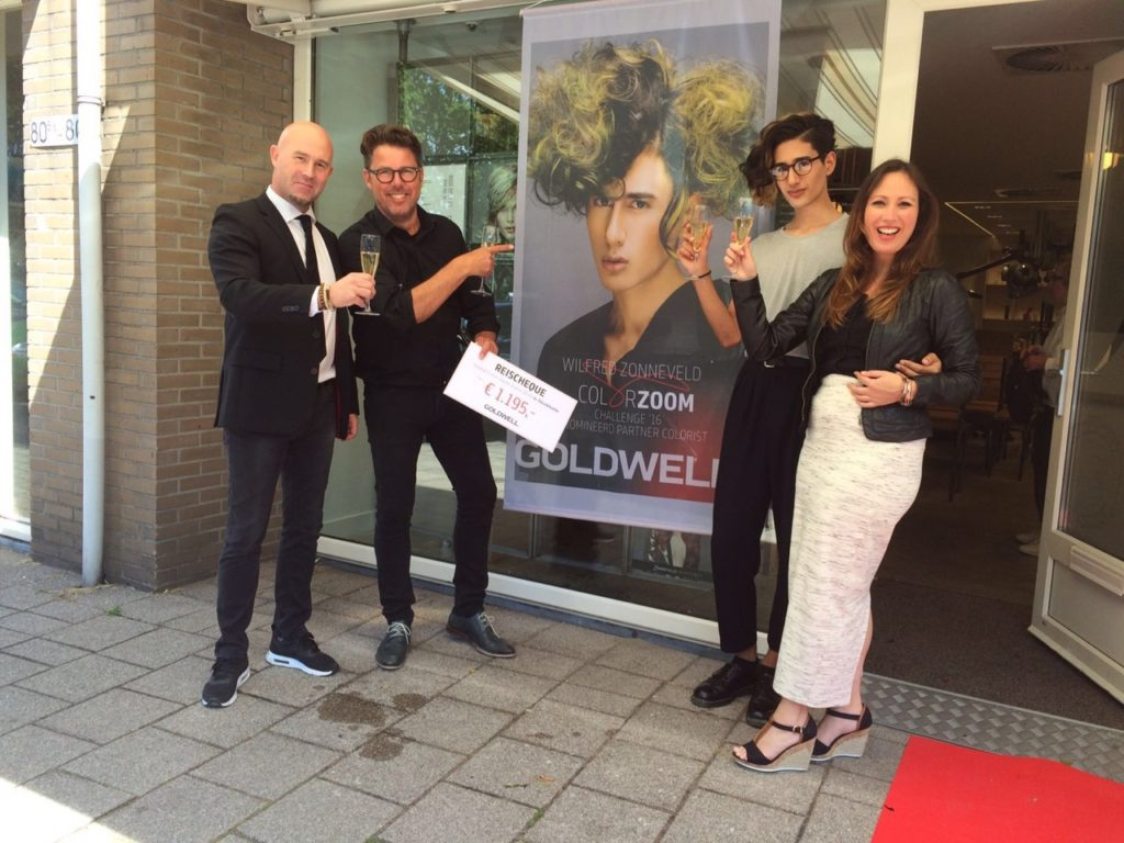Goldwell Color Zoom 2016 partner colorist